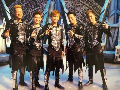 2014年 EXILE加入 5名