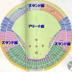ハイアンドローライブ東京ドームの座席!LIVEを超えるファイナル!?