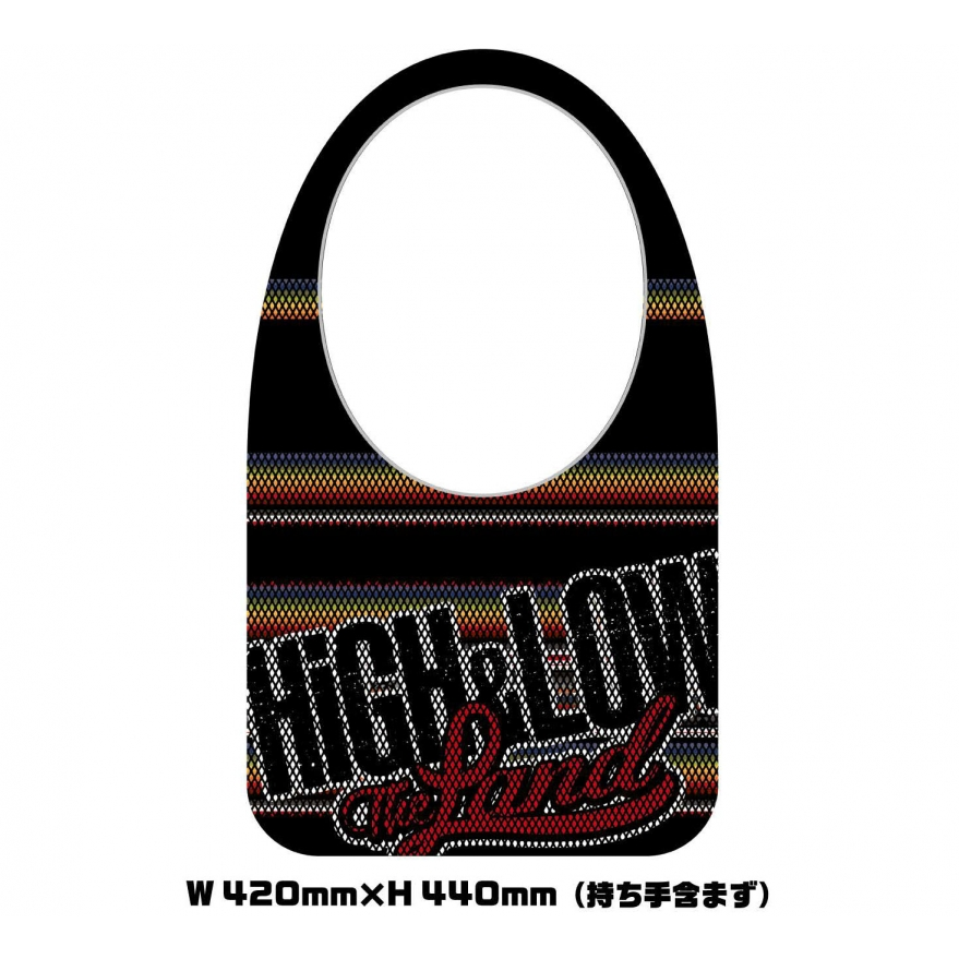 HiGH&LOW メッシュバッグ High & Low The Land