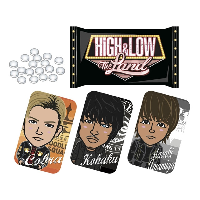 HiGH&LOW THE LAND タブレットスライドケース第1弾