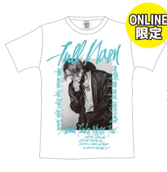 【ONLINE限定】FULL MOON フォトTシャツ/WHITE