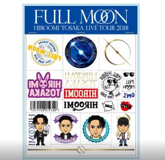 FULL MOON タトゥーシール