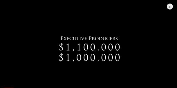 ハリウッドのエグゼクティブプロデューサーのお給料