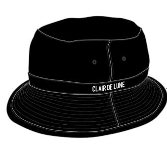 CLAIR DE LUNE バケットハット